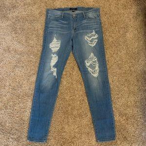 Flying Monkey Destroyed Skinny Jeans